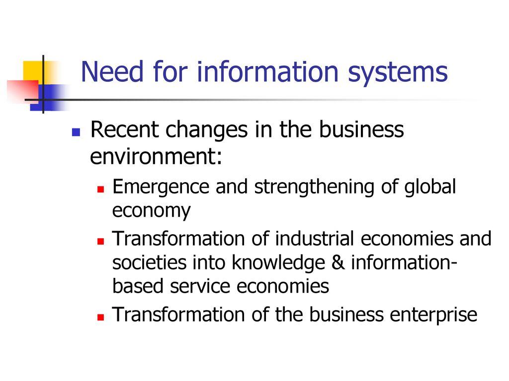 transformation of industrial economies