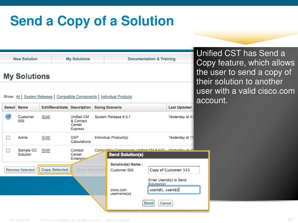 Cisco Unified Communications Sizing Tool - ppt download
