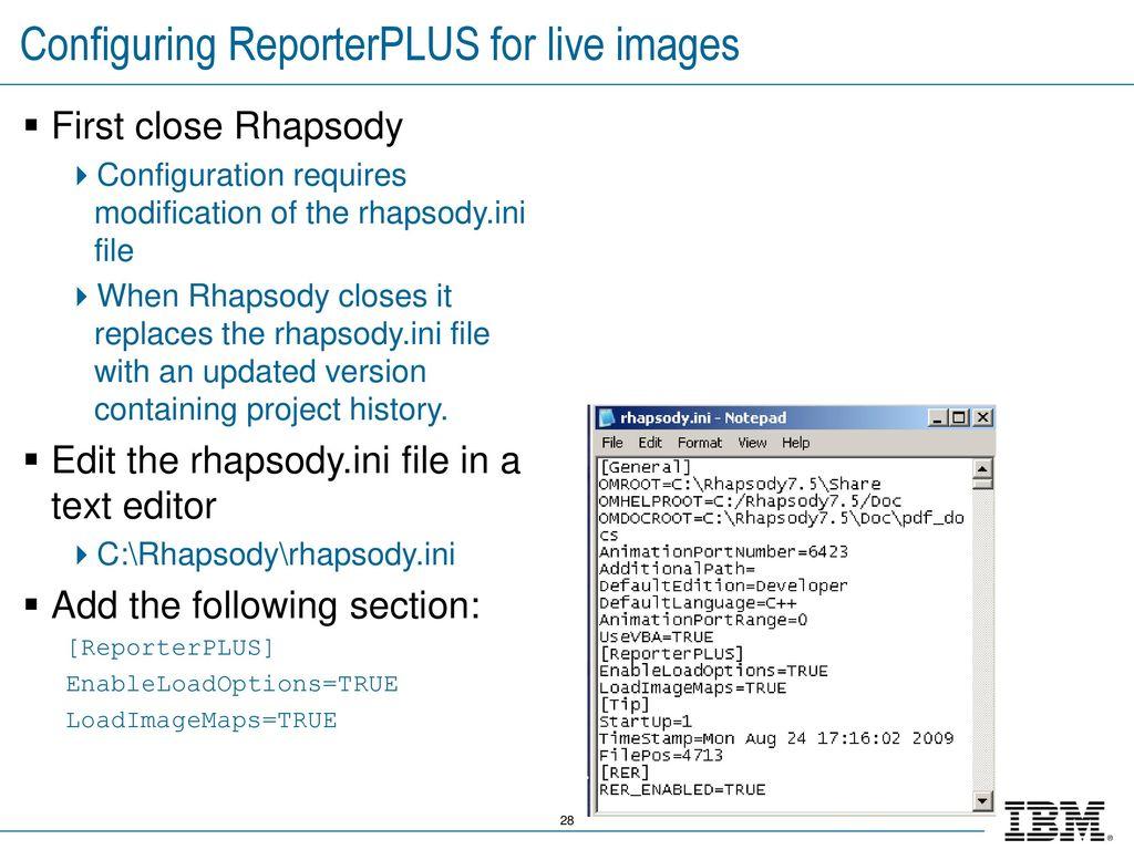 IBM Rational Rhapsody Advanced Systems Training v ppt download