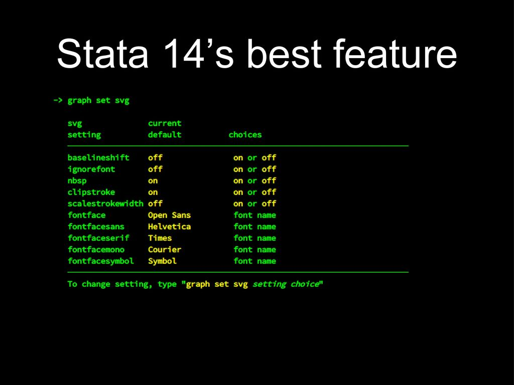 Extending Stata Graphics Via Svg Manipulation Commands Ppt Download