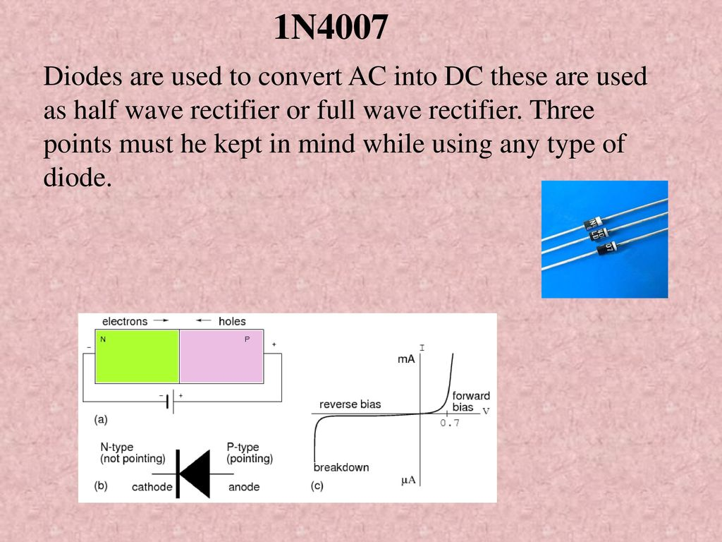 Auto Switch Off Of Tv While Screen Goes Witout Video Ppt Download Full Wave Rectifier Diagram 8 1n4007 Diodes Are Used To Convert Ac Into Dc These As Half Or Three Points Must He Kept In Mind Using