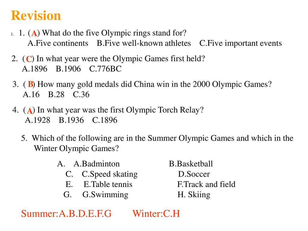 unit 8 sports the olympic games. - ppt download