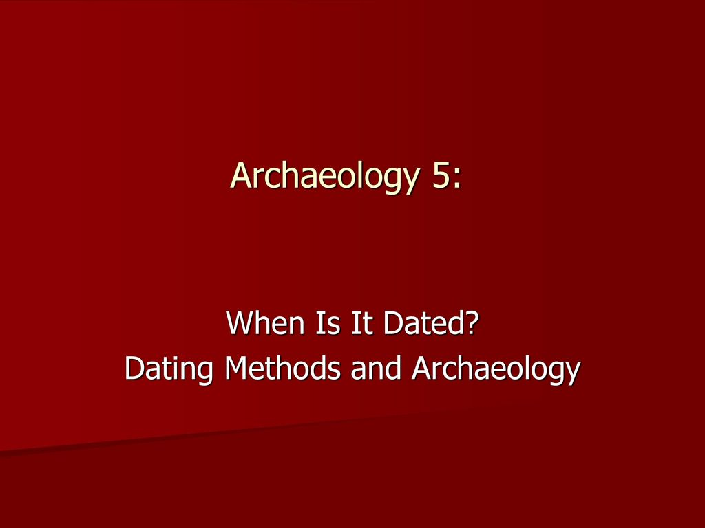 tree ring dating and archaeology baillie