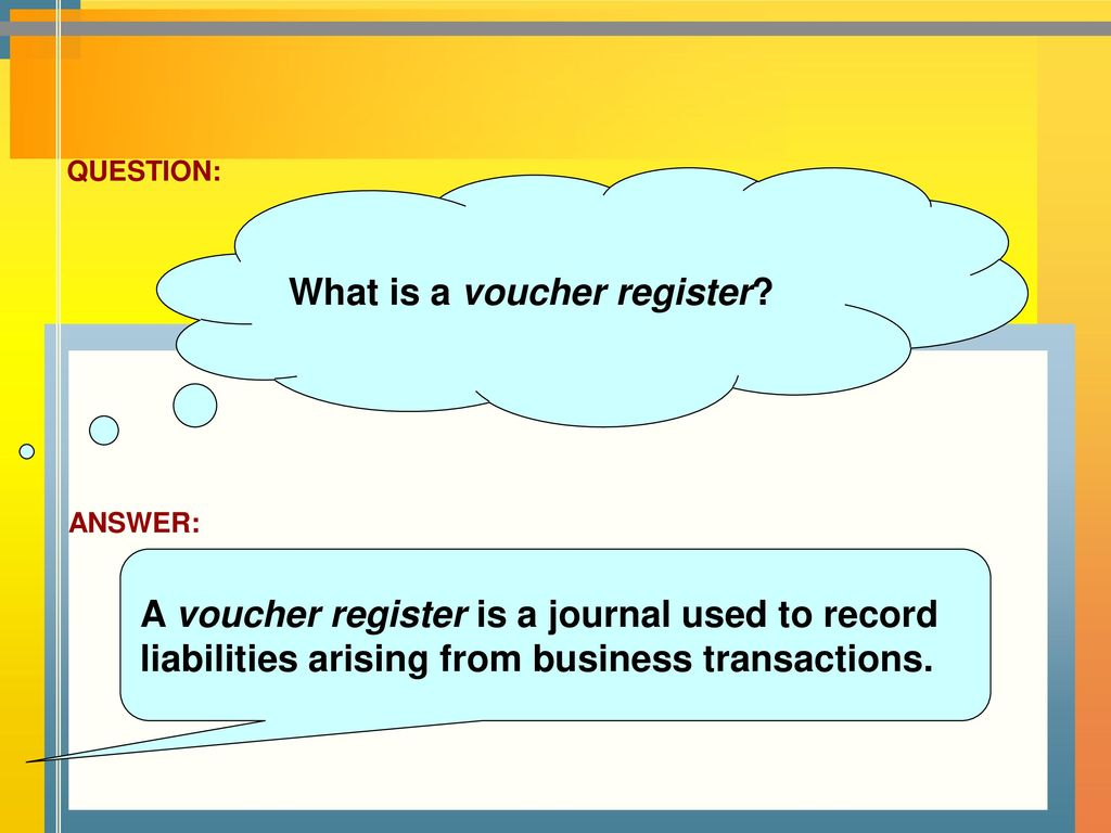 What is a voucher
