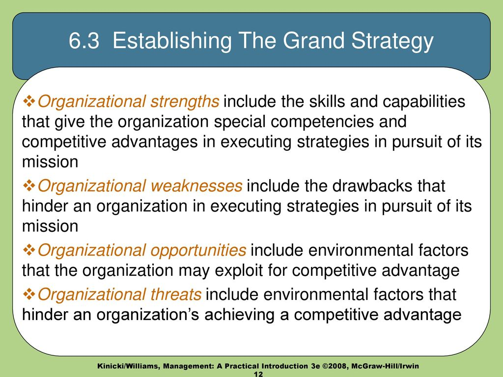management essays grand strategies A grand strategy matrix is a tool used by businesses to devise alternative strategies the matrix is primarily based on four essential elements: rapid market growth, slow market growth, strong competitive position and weak competitive position.