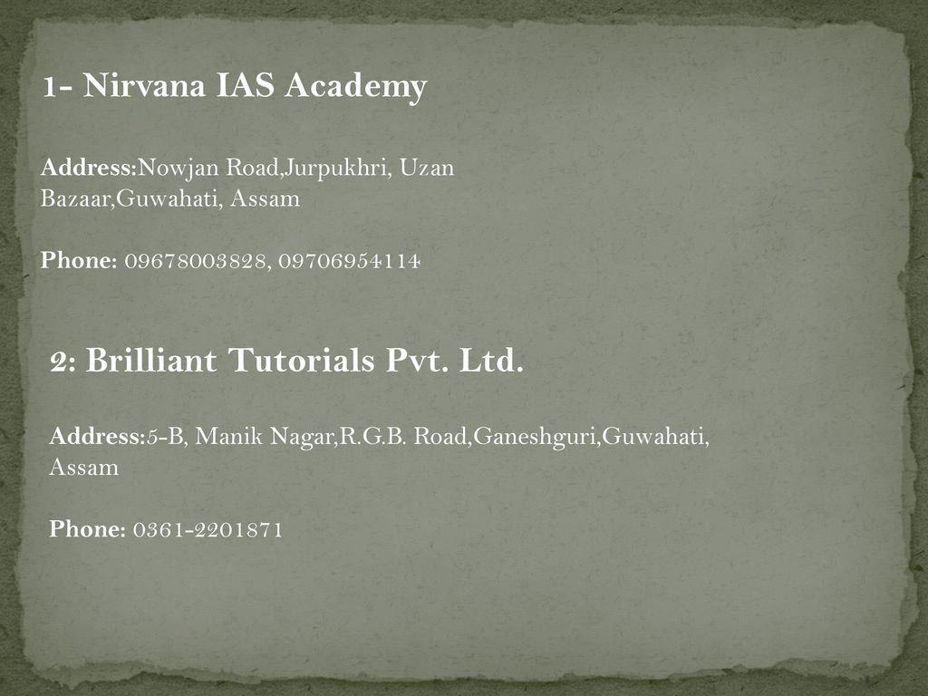 Brilliant tutorials chamrajpet, bangalore reviews, fee.