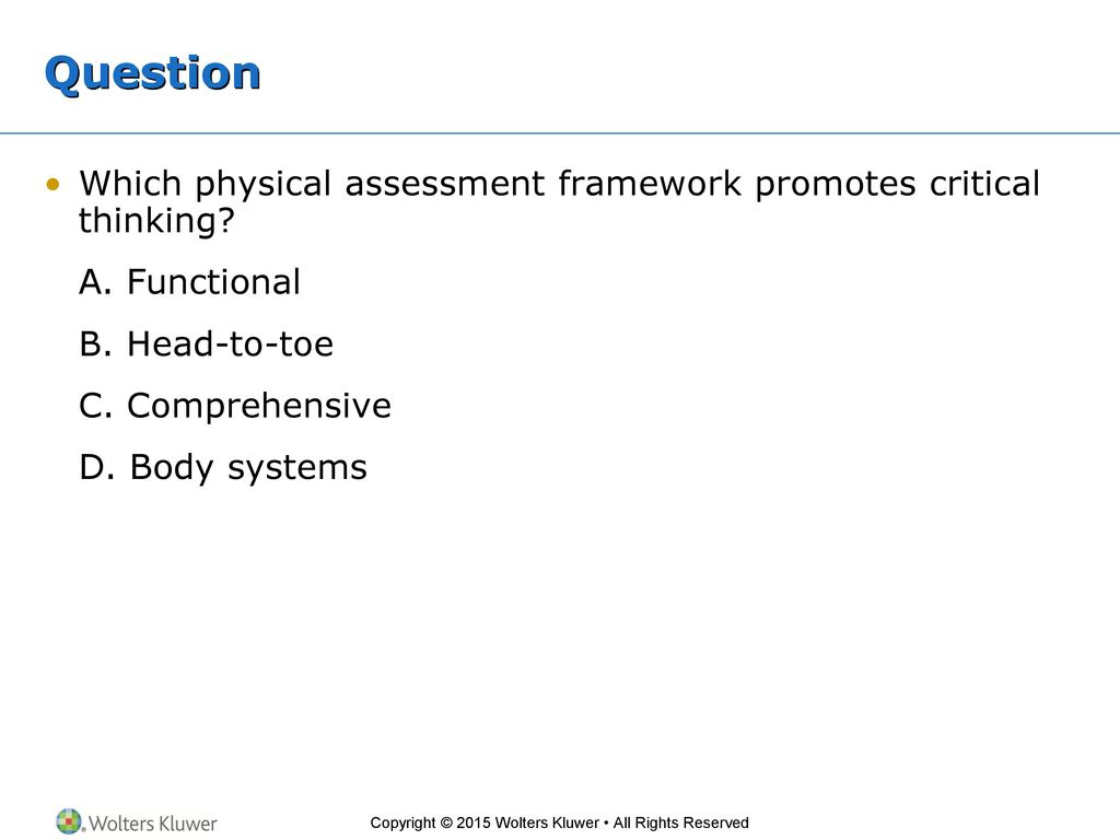 Chapter 1—The Nurse's Role in Health Assessment - ppt download