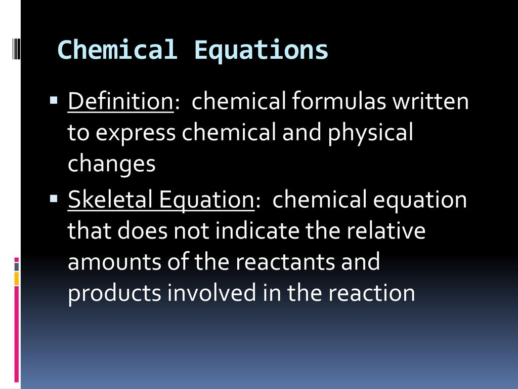 chapter 8: chemical reactions - ppt download