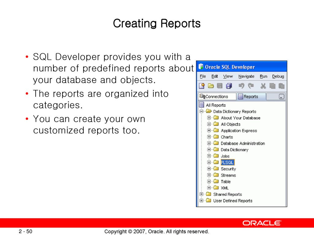 Introducing the Oracle Database 11g SQL and PL/SQL New