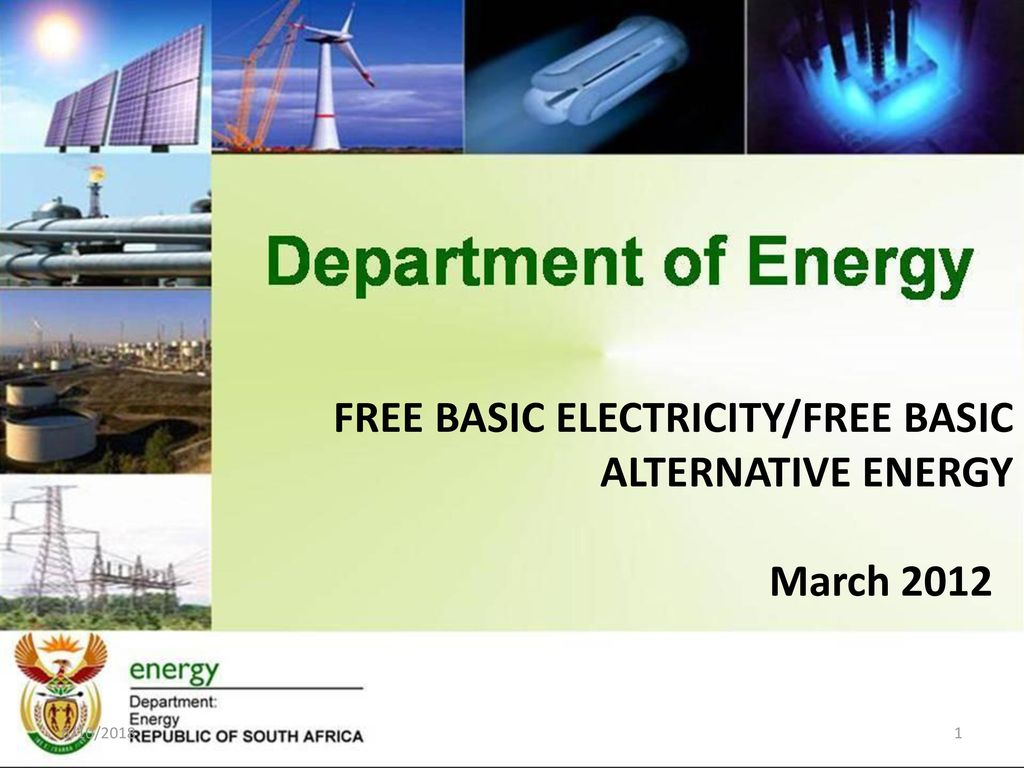 Free Basic Electricity Alternative Energy Ppt Download Basicelectricity