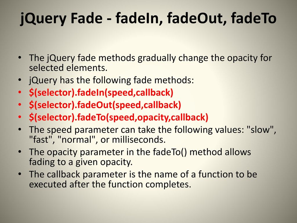 jQuery A Javascript Library Hard things made eas(ier) - ppt