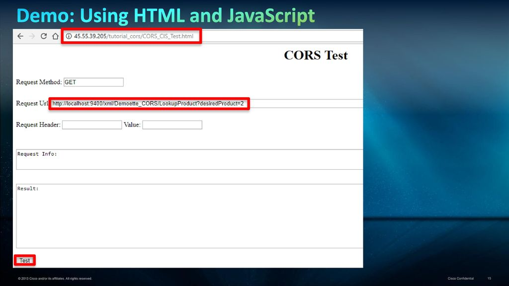 Data Virtualization Tutorial… CORS and CIS - ppt download