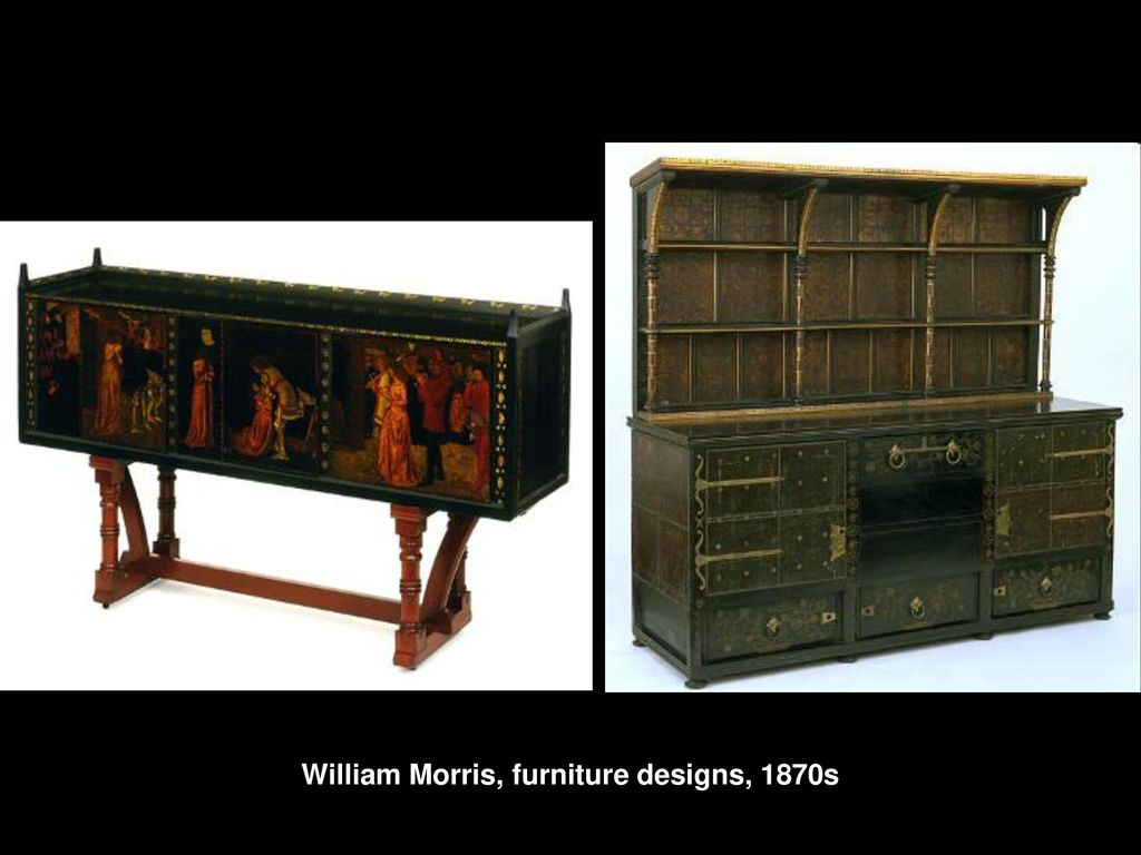 6 William Morris, Furniture ...