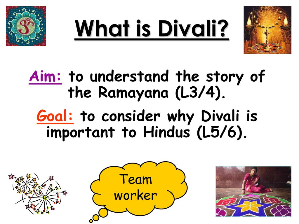 What is Divali? Aim: to understand the story of the Ramayana