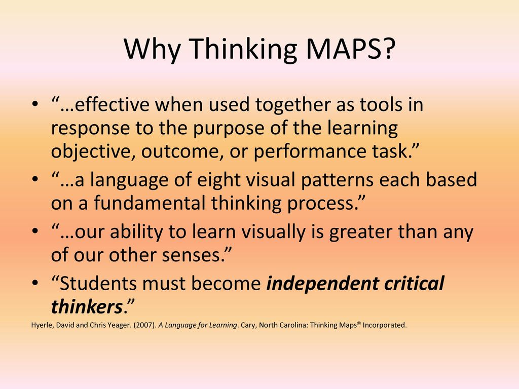 Creating Thinking Maps For Learning For Online Classes Ppt Download