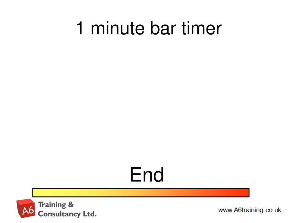 1 Minute Timer