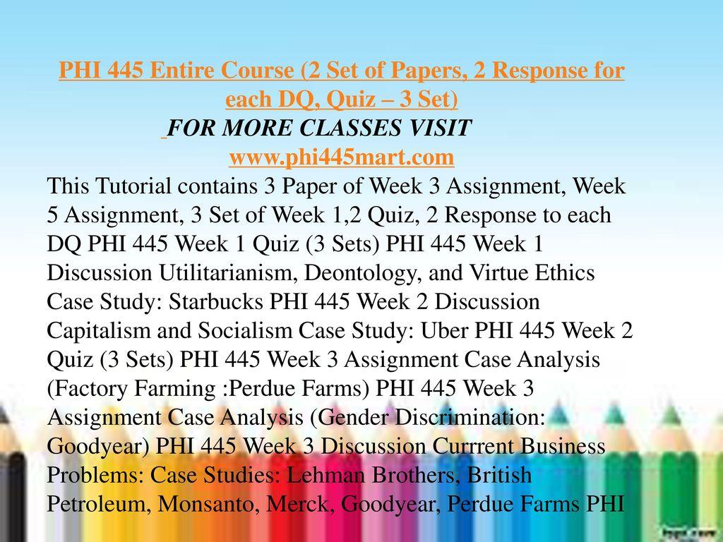 starbucks ethics case study