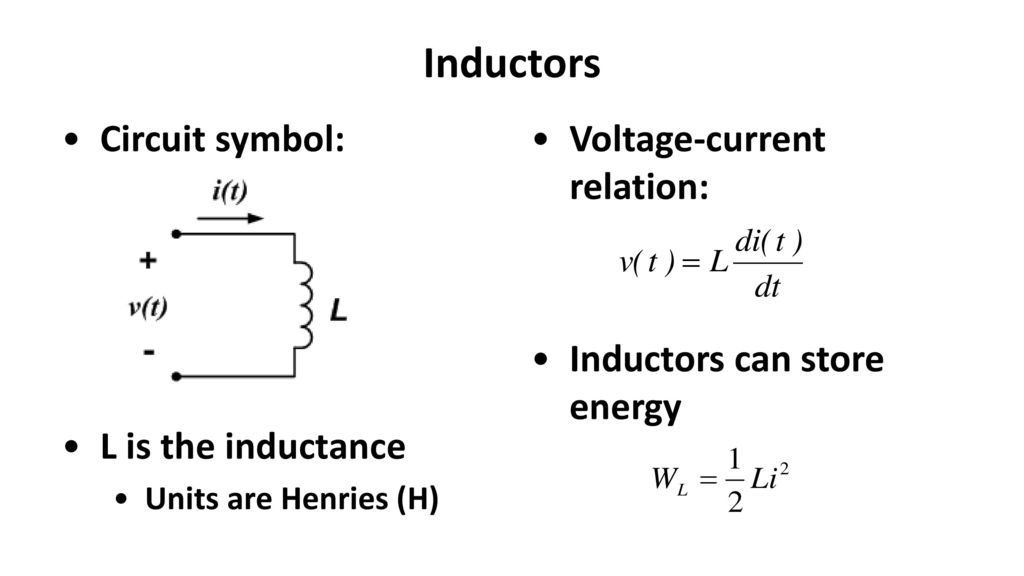 Fancy Inductor Circuit Symbol Pattern - Schematic Diagram Series ...
