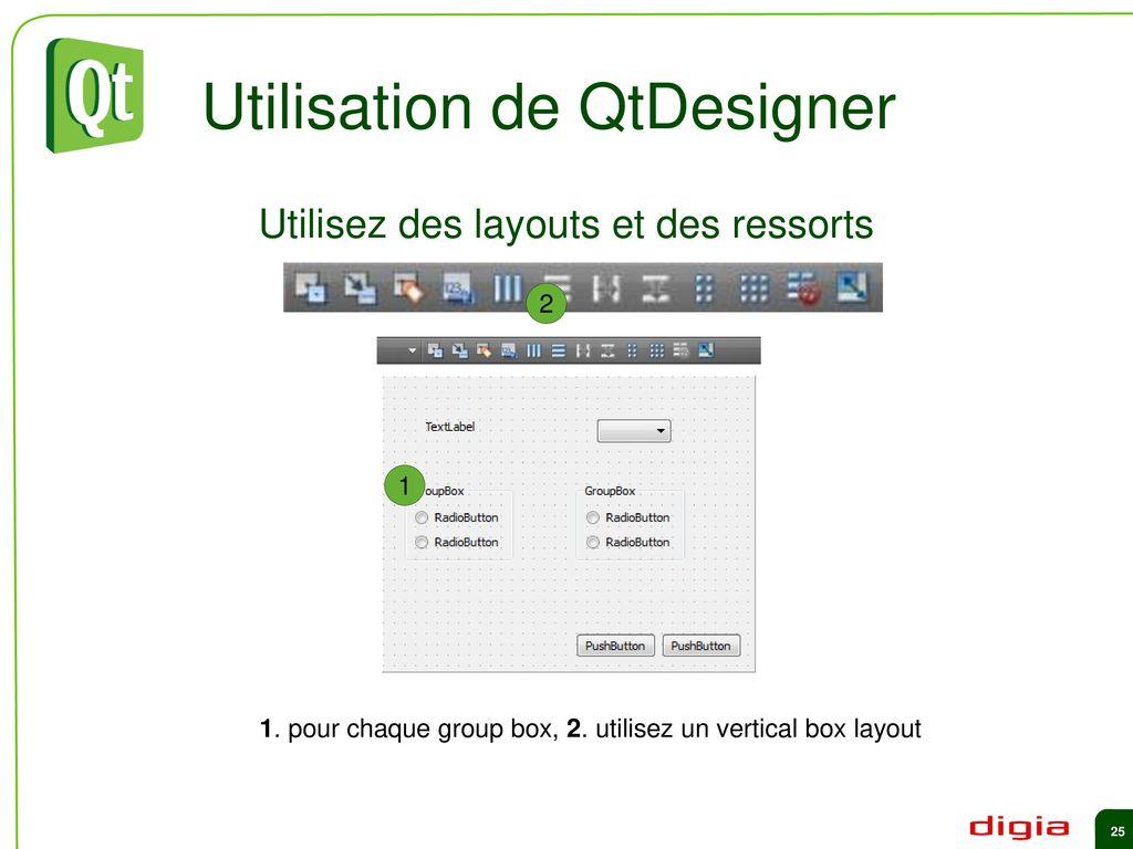 Qt in Education Widgets et Layouts - ppt download