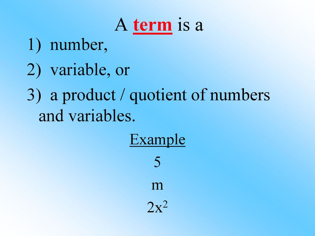 I can use the distributive property to rewrite algebraic expressions ...