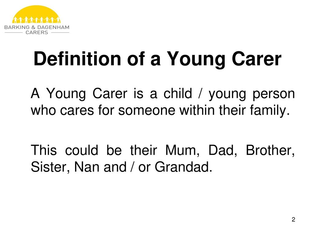 young carers alternative child rearing practices presentation