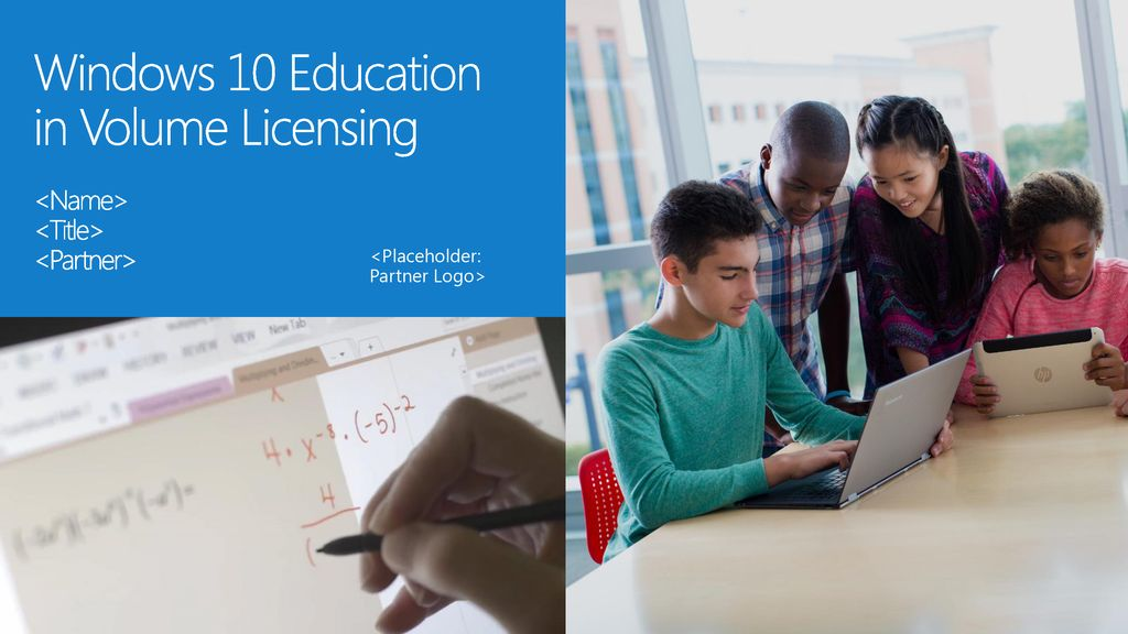 windows 10 education volume license