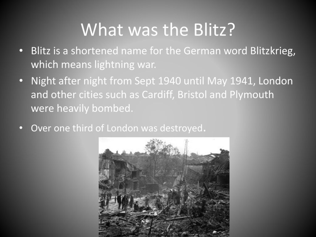 what does the german word blitzkrieg mean