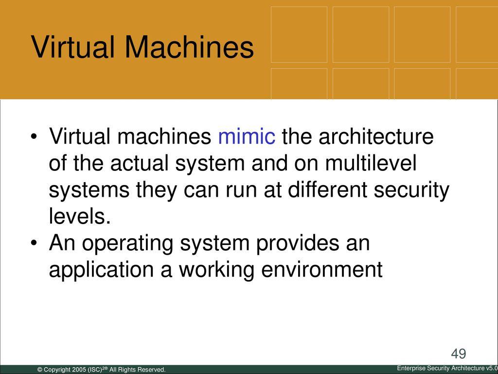 Enterprise Security Architecture - ppt download