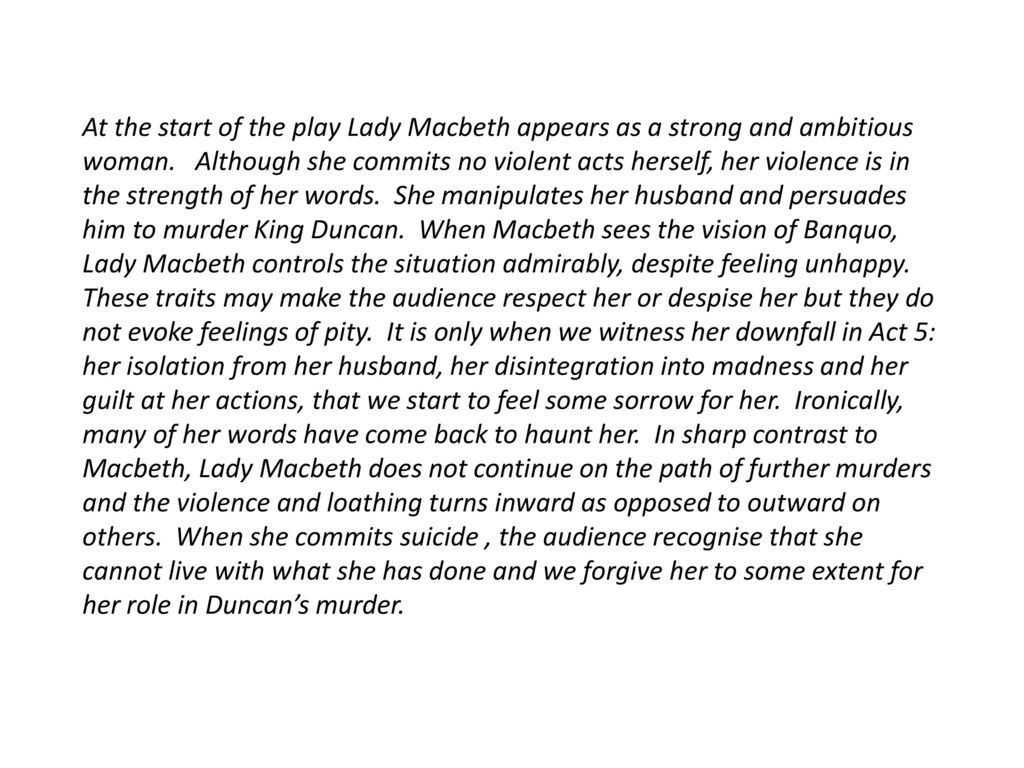 English 101 Essay At The Start Of The Play Lady Macbeth Appears As A Strong And Ambitious  Woman Synthesis Essays also High School Essays Examples Introduction To Macbeth Essay  Ppt Download Thesis Examples For Essays