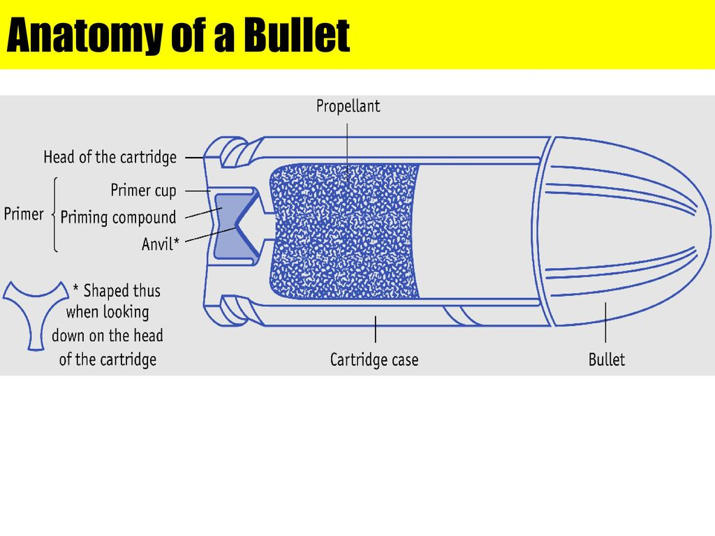 Firearms Forensic analysis is vital to solve a crime that uses a gun ...