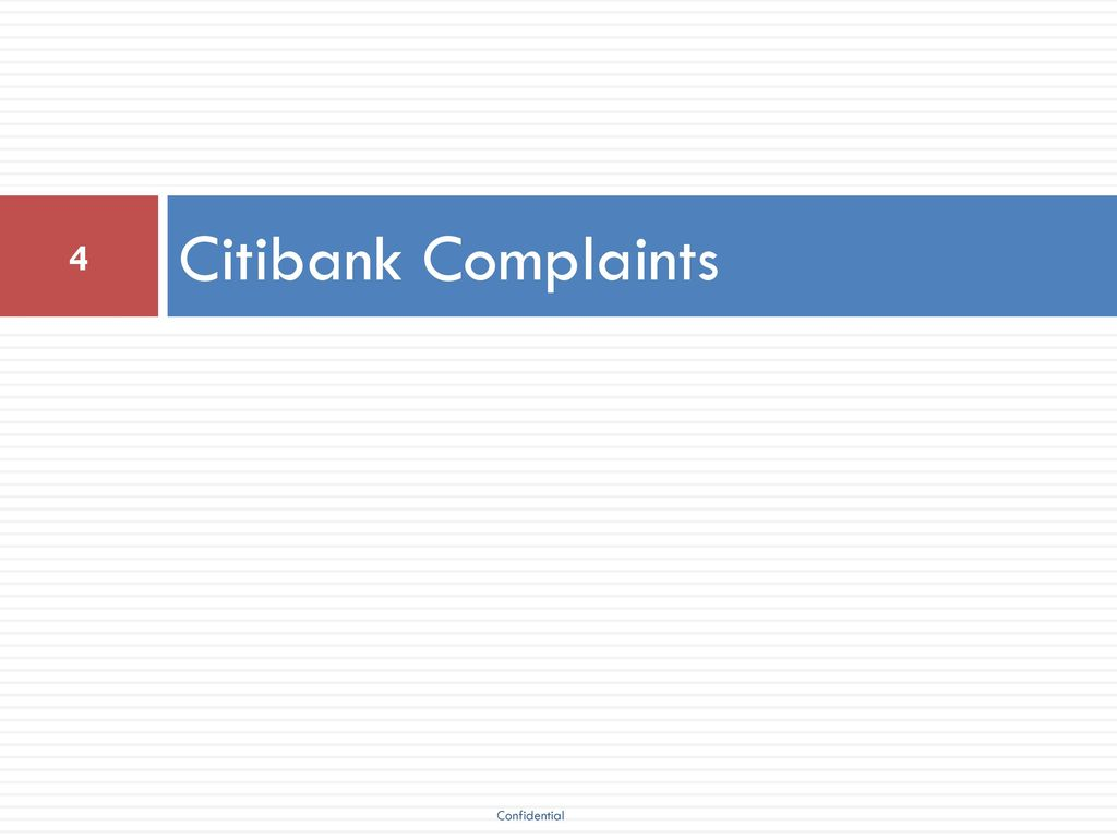 2017 Citi Complaint Training Ppt Download Wiring Instructions For Citibank 4 Complaints Confidential