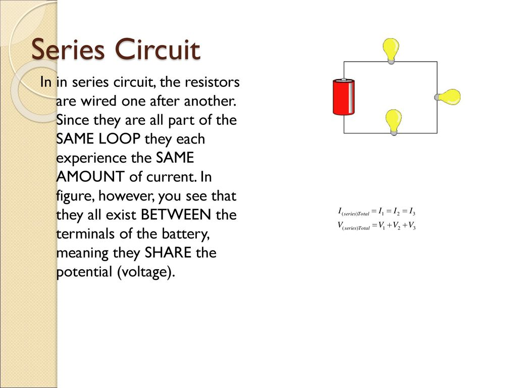 Electric Circuits Ap Physics B Ppt Download Wiring Series Vs Parallel Circuit