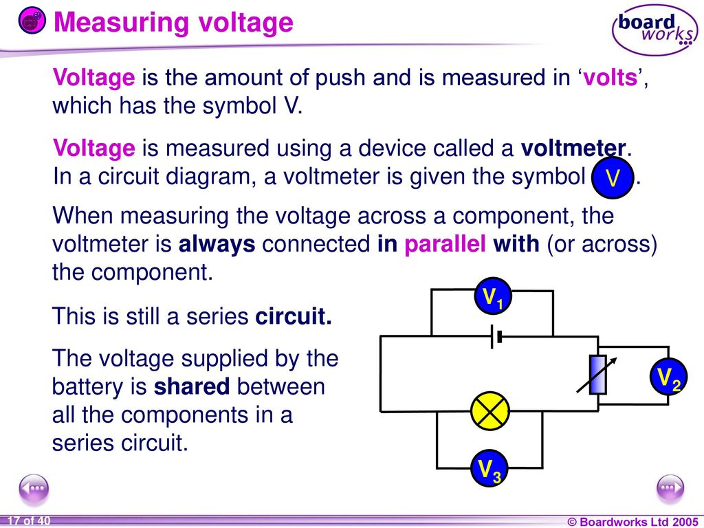 9i Energy And Electricity Ppt Download Circuit Diagram With Voltmeter 17 Measuring