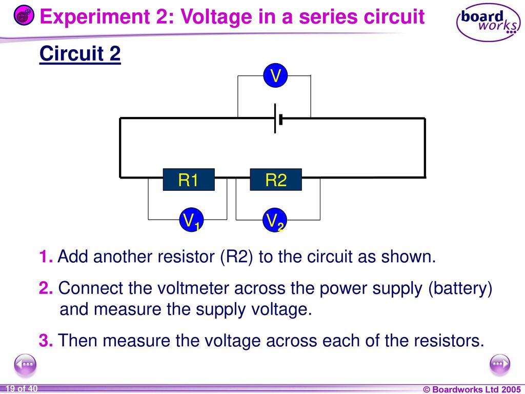 9i Energy And Electricity Ppt Download Series Circuit With 3 Resistors Experiment 2 Voltage In A