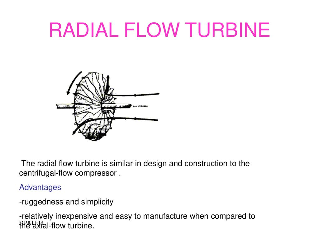 Ae 1351 Propulsion Ii Spater Ppt Download Jet Engine Diagram Of An Axialflow Radial Flow Turbine The Is Similar In Design And Construction To Centrifugal