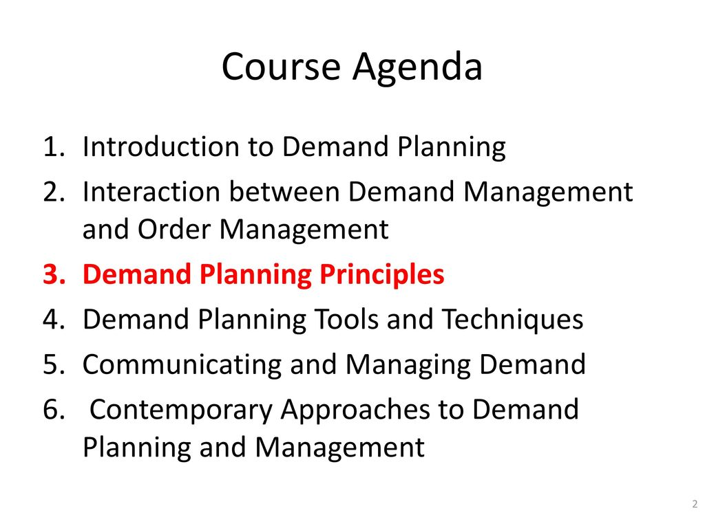 Learning Block 3 Demand Planning Principles - ppt download