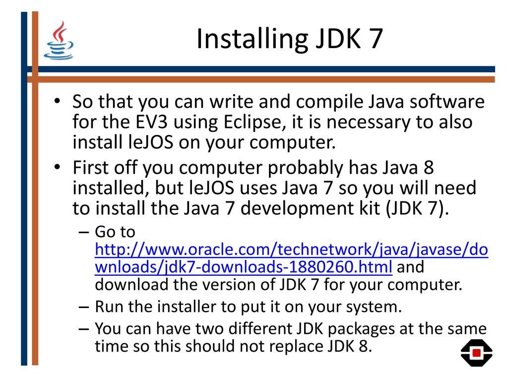 Java on the LEGO Mindstorms EV3 - ppt download