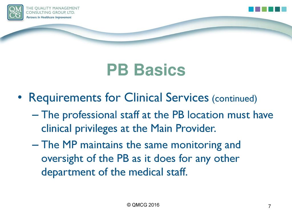 """What the Term """"Provider-Based"""" Means to the Medical Staff"""