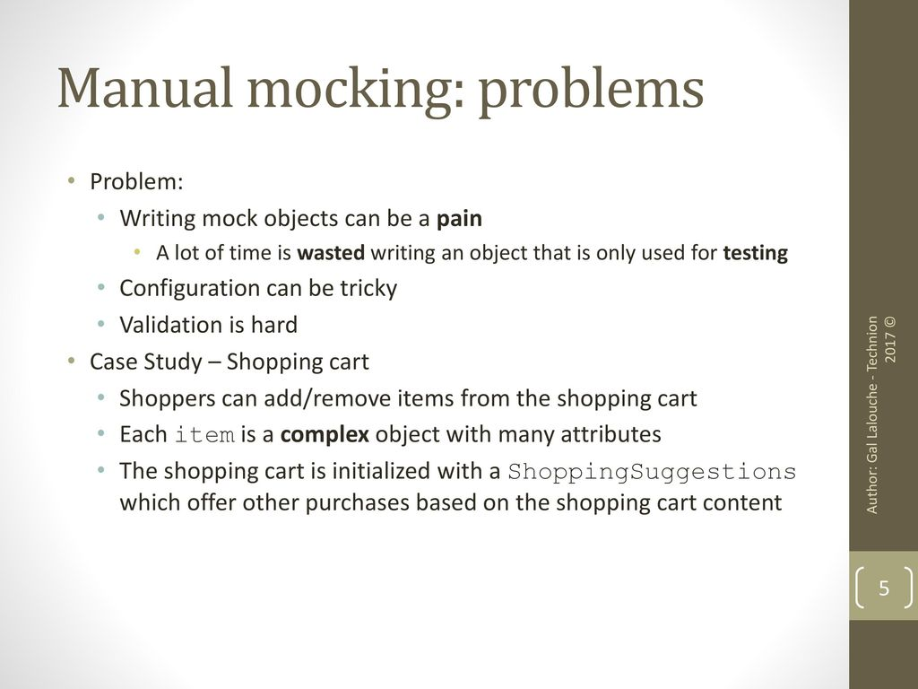 Test Isolation and Mocking - ppt download