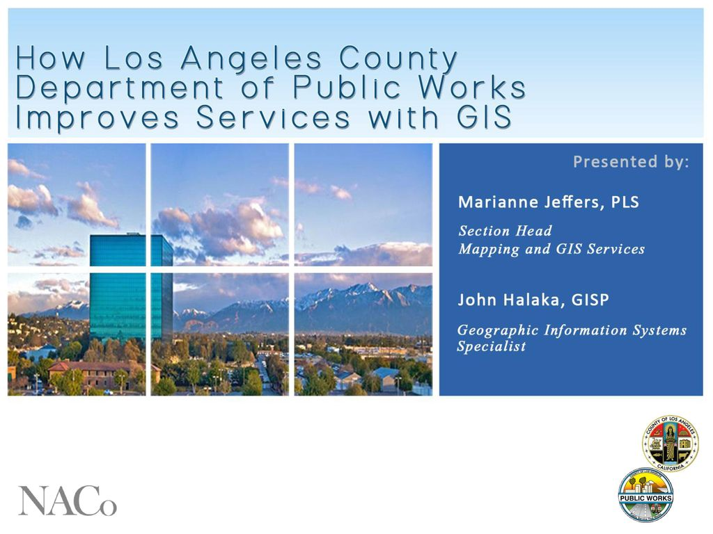 county of los angeles - department of public works - ppt