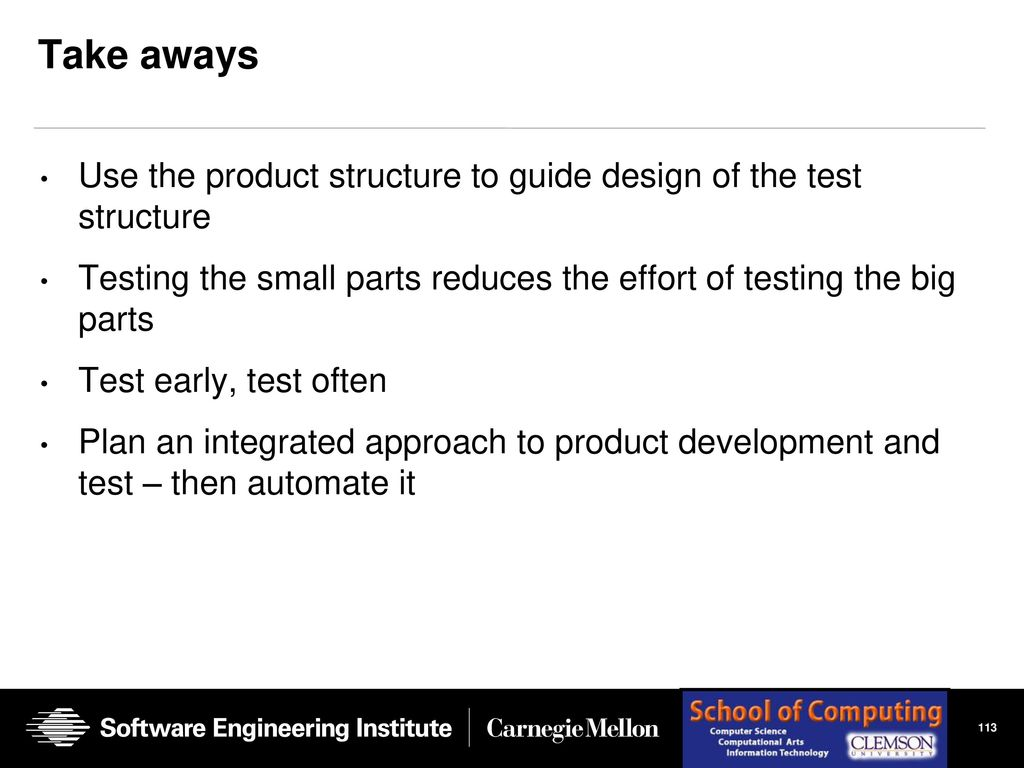 Testing In A Software Product Line Organization Ppt Download