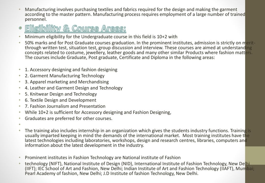 Carrier Opportunity On Fashion Designing Ppt Download