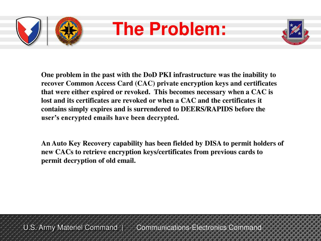 Dod Cac Card Certificate Recovery Howtoviews