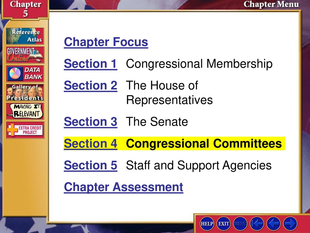 3 Section 1 Congressional Membership
