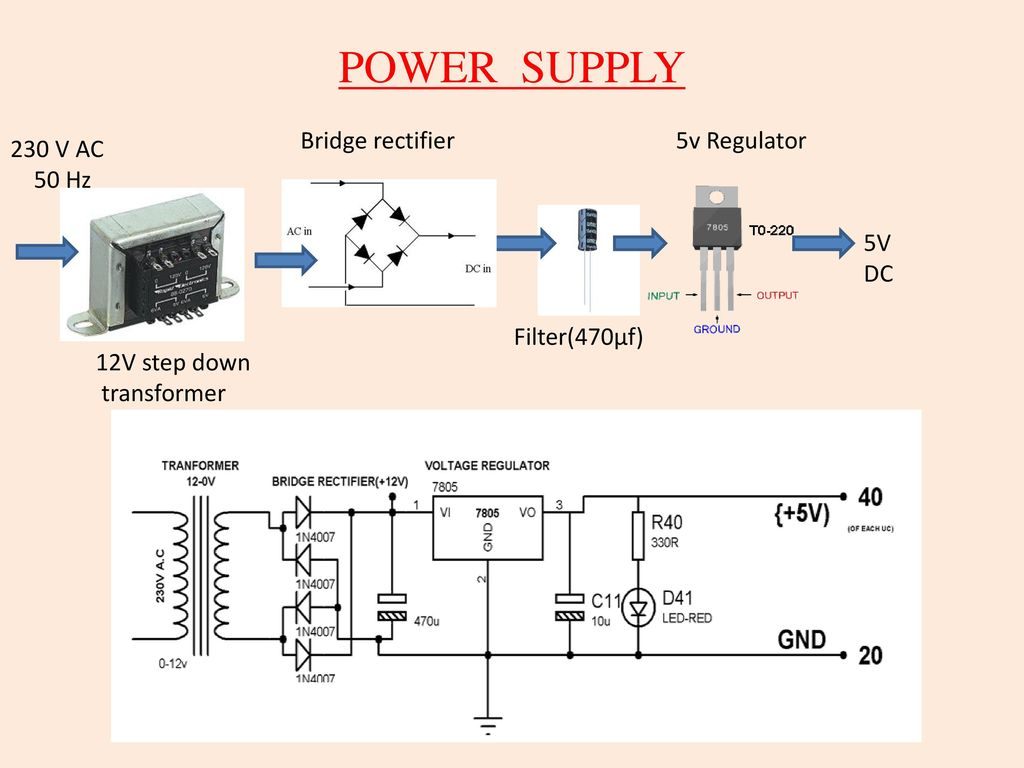 3 Phase Sequence Checker By Led Indication Ppt Download Control Circuit Bridge Rectifier Regulated Lab Power Supply 5
