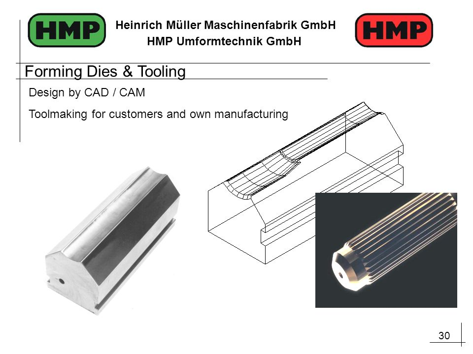Forming Dies & Tooling Design by CAD / CAM