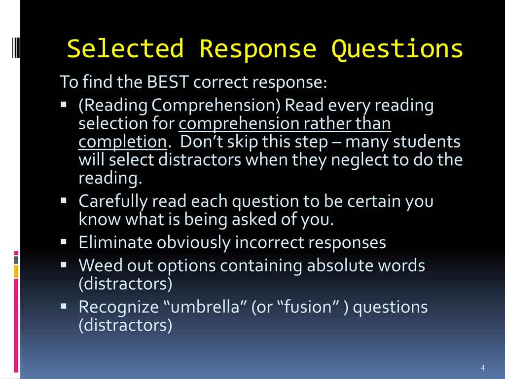 - Test-Taking Strategies - Ppt Download