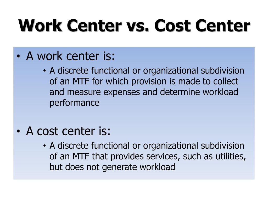 Requirements for Establishing a Work Center for MEPRS/EAS - ppt download