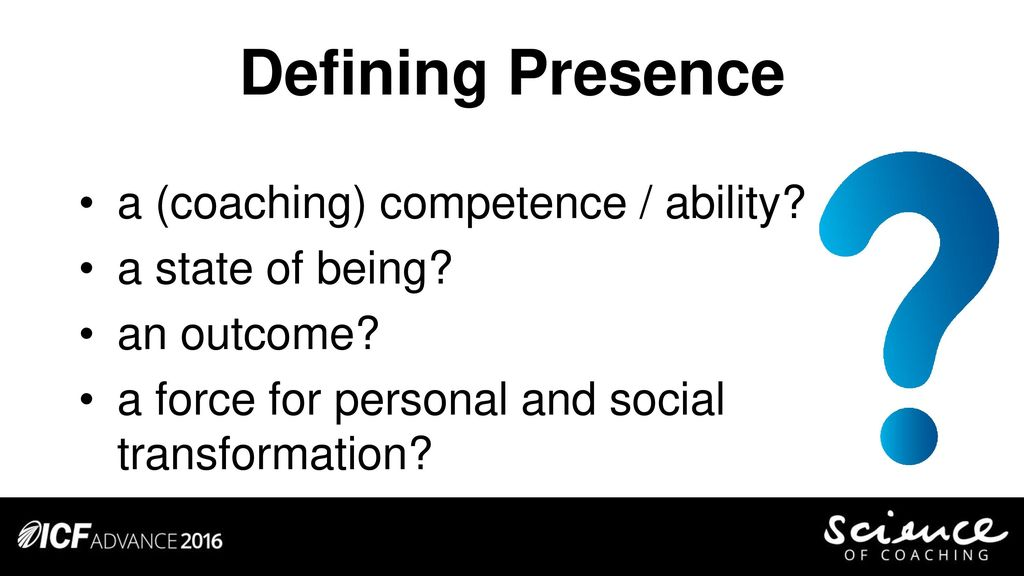 The Anatomy Of Presence Ppt Download