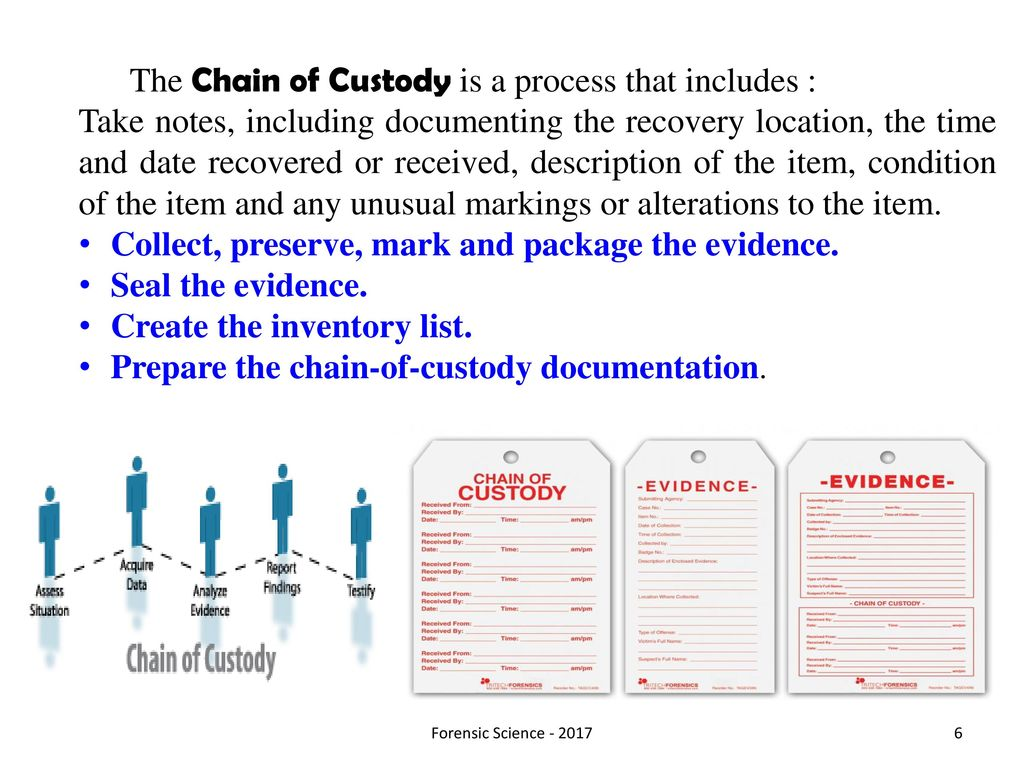 Chapter 2 Evidence Collection Ppt Download